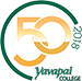 Yavapai College 50th Anniversary Site Logo
