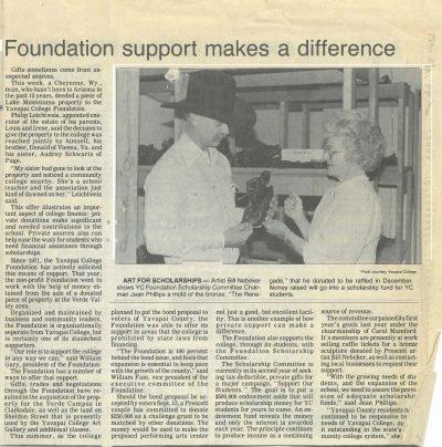 Yavapai College 50th Anniversary Site